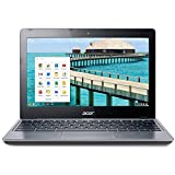 Acer C720-2844 11.6' Google Chromebook Laptop Intel Celeron 2955U Dual Core 1.4GHz 4GB RAM 16GB SSD...