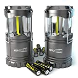 2 x Lanterne HeroBeam LED - Technologie COB émet 300 LUMENS ! - Lampe de...