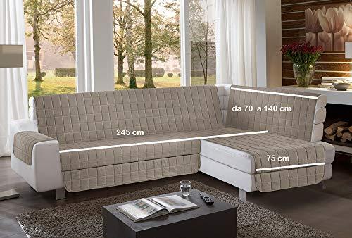 la biancheria di casa Simplicity Plus Angle Copri Salva Divano per divani ad Angolo (245 cm,...