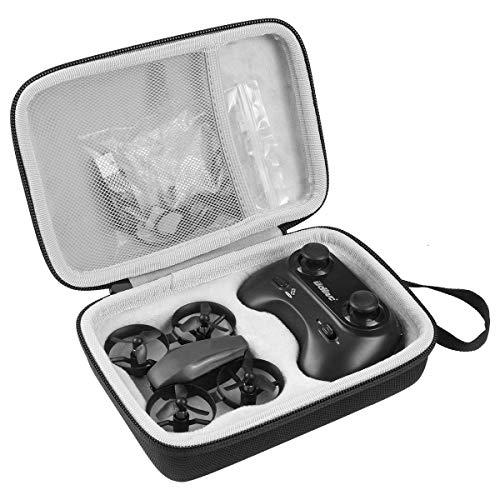 Khanka Eva Difficile Caso Viaggiare trasportare Sacchetto per Potensic Mini Drone (Black Zip)