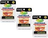 Dr. Dan's Cortibalm -3 Pack -for Dry Cracked Lips - Healing Lip Balm for Severely Chapped Lips- Designed for Men, Women and Children