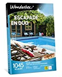 Wonderbox – Coffret cadeau pour deux - ESCAPADE EN DUO – 1045...