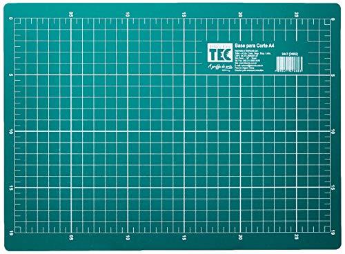 Base para Corte 21X29, 7 cm A4 Toke e Crie, Verde