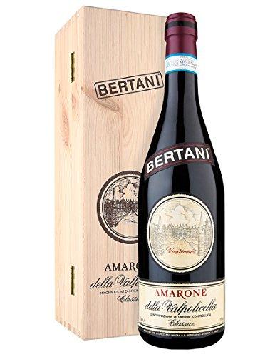 Amarone della Valpolicella Classico DOCG 2010 - Bertani - 1 x 0,75 l. - Con cassetta di legno