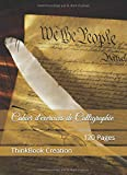 Cahier d'exercices de Calligraphie: 120 Pages