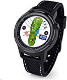 Aim W10 Upgraded Golf Navigation GPS Wrist Watch for Men and Women and Laser Rangefinder, 11 Hours Battery Life, Water Resistant with Lifetime Free Courses, Smart Accessory, Black (W10)