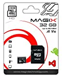 Micro SD Card Magix HD Series Class10 V10 + SD Adapter UP to 80MB/s (32GB),...