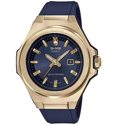 Casio MSGS500G-2A Baby-G Women's Watch Blue 42.4mm Resin