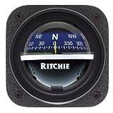 Ritchie V-537B Explorer Compass - Bulkhead Mount - Blue Dial