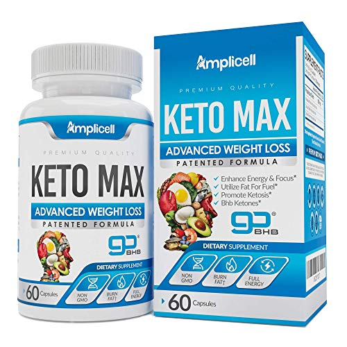 Amplicell Female Enhancement - Libido Booster for Women (60caps) and Advanced Keto Pills BHB Ketosis Diet for Women (60caps) 3