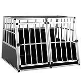 Cage de Transport Taille XXL pour Animaux domestiques Aluminium MDF 2...