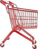 small foot 8002 Caddie 'Massif' solide cadre rouge en métal, pour boutique marchandes, à partir de 3 ans