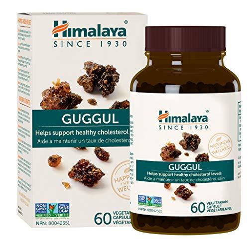 Himalaya Herbal Healthcare | Guggul (Indische Myrrhe) | 60 Kapseln | hochdosiert | Vegan | ohne Gentechnik | Glutenfrei | Sojafrei | Guggulsteron