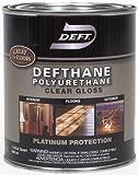 Deft Defthane Interior Exterior Clear Polyurethane Gloss, Quart