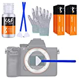 K&F Concept 24mm (16 pezzi) Kit di Pulizia Full Frame APS Professionale per...
