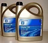 GM OPEL Général Motor 5W30Fuel Oil dexos 2, économie Long Life/2bidons...