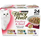 Purina Fancy Feast Grilled Poultry & Beef Collection Cat Food - (24) 3 oz. Cans