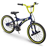 Huffy Kids Bike for Boys, Ignyte 20 inch Red & Blue, Gloss Blue Abyss