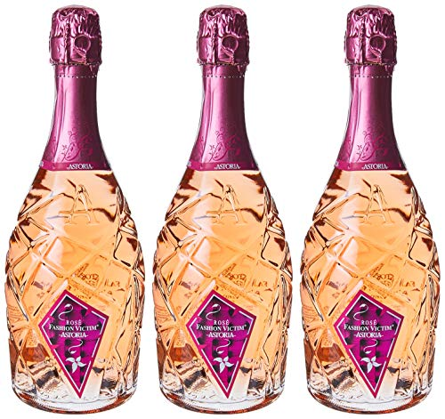 Astoria Rose'Fashion Victim'Spumante - 3 bottiglie da 750 ml