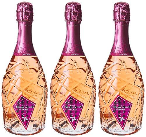 Astoria Rose'Fashion Victim'Spumante - 3 bottiglie da 750 ml