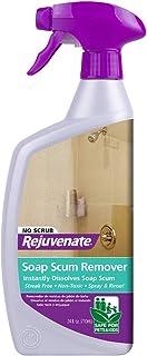 Rejuvenate Scrub Free Soap Scum Remover Shower Glass Door Cleaner 24oz Works on Ceramic..