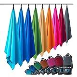Fit-Flip Serviette Microfibre – Disponible dans Toutes Les Tailles / 12 Couleurs – Serviette de...