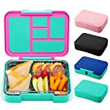 Simple Modern Porter Bento Lunch Box for Kids - Leakproof Divided Container with 5 compartments for Toddlers, Men, and Women Color Blocked: Sorbet