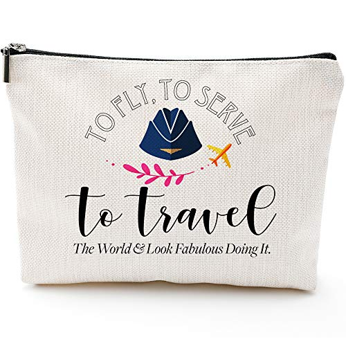 Flight Attendant Gifts for Women-to Fly to Serve to Travel--...