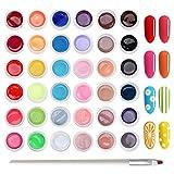 Skymore 36 Gel UV Couleur,Vernis Gel Semi-Permanent,Manucure...