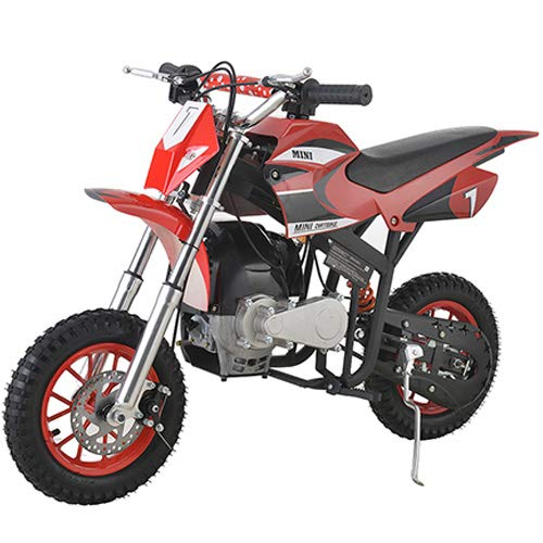 X-PRO 40cc Kids Dirt Bike Mini Pit Bike Dirt Bikes Motorcycle Gas Power Bike Off RoadRed