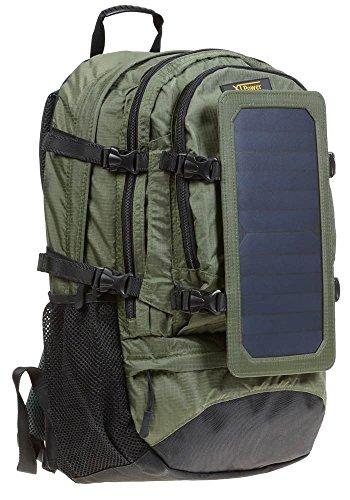XTPower SP607BL 6,5W sac à dos Solaire Vert - Compartiment photovoltaïque...