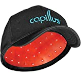 CapillusUltra Mobile Laser Therapy Cap for Hair Regrowth - NEW 6 Minute Flexible-Fitting Model - FDA-Cleared for Medical Treatment of Androgenetic Alopecia - Great Coverage
