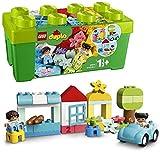 LEGO 10913 DUPLO La boîte de briques avec rangement pour jouets, Premières briques jouet d'apprentissage préscolaire pour tout-petits de 1,5 ans