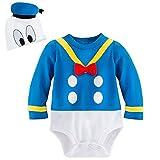 Disney Store Deluxe Donald Duck Halloween Costume Bodysuit Size 12-18 Months
