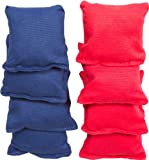 Small Sized Bean Bags - 3.5' x 3.5' By Tailgate360 (Red and Blue)