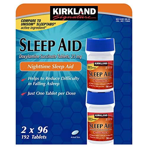 Kirkland Signature Sleep Aid Doxylamine Succinate 25 Mg