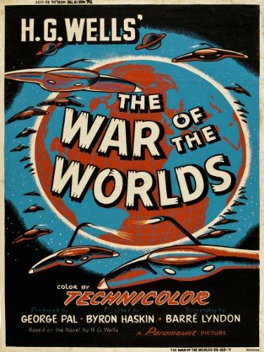 War of the worlds HG wells Movie Poster Art Print (MSP34) (Kitchen & Home)