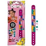 LEGO DOTS Le bracelet de Pouvoir 41919 - Kit de création de bracelet pour enfants - Les enfants qui aiment les loisirs créatifs et la fabrication de bracelets vont adorer(33pièces)