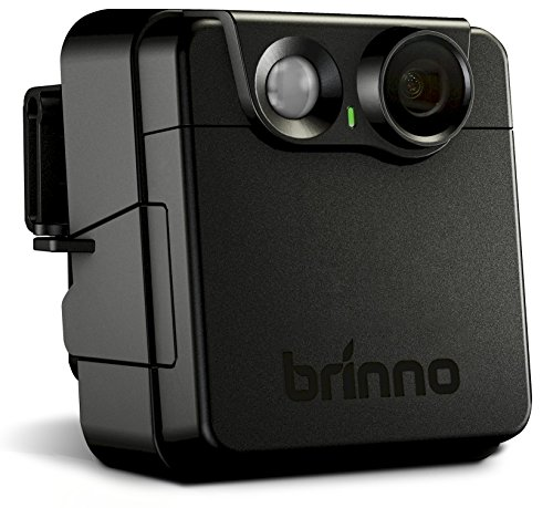 Brinno MAC200DN Motion Activated Camera, Display LCD 1,44', Risoluzione Video 1280 x 720, IPX4, Nero