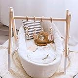 Mamimami Home 4pc Baby Gym Jouets En Bois Bébé Jouet De...