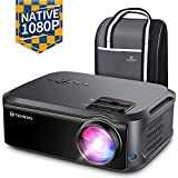 VANKYO Performance V620 Native 1080P Projector, with 200' Display 50,000 Hours LED, Compatible with TV Stick, HDMI, X-Box, Laptop, iPhone Android for Home/Outdoor Entertainment