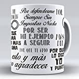 APRIL Nueva Taza cermica Desayuno Regalo Original da de la Madre para mam Frases para Decir a una Madre