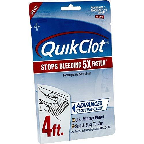 AMK QuikClot Gauze 3 inch x 4 Foot