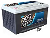 XS Power D6500 XS Series 12V 3,900 Amp AGM High Output Battery with M6 Terminal Bolt