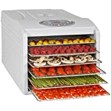 Kitchen Chef KYS333B KYS-333B Déshydrateur de fruit, 500 W, Transparent,...
