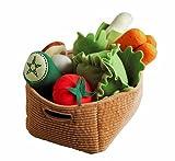 Ikea Duktig Play Food Set Soft Toy Kids Children 14 Pc Vegetables (Original Version)