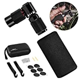 WOTOW Bike Tire CO2 Inflators Kits, Quick Inflate Bicycle Pumps Nozzle with Insulated Sleeve | Glueless Puncture Kit | Fits Presta and Schrader Valve |No Cartridge Included (Black)