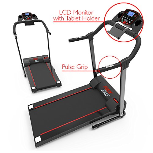 SereneLife SLFTRD18 - Smart Folding Compact Treadmill with Downloadable App & Bluetooth connectivity 3