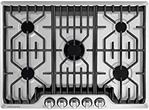 Frigidaire Professional 30-Inch Gas Cooktop | Stainless Steel, 5 Burners, Liquid Propane..