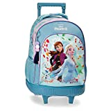 Disney Frozen Awesome Moves Mochila con Ruedas, Azul, 43 cm
